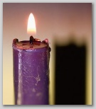 Advent Candle Small