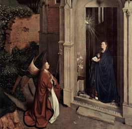 The Annunciation by Van Eyck