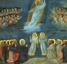 The Ascension by Giotto