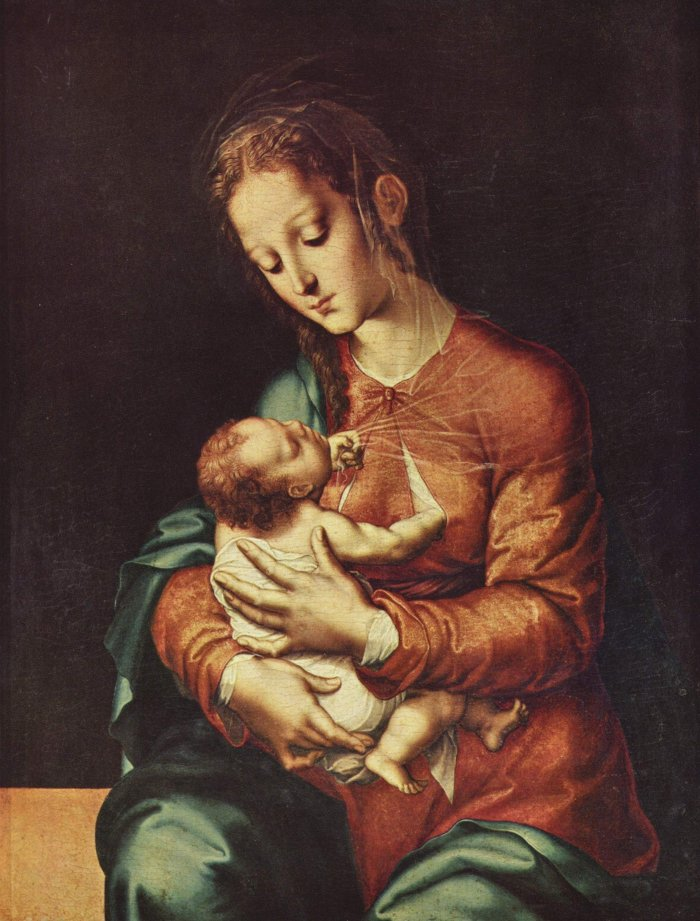 Famous Mary Mother Of God Paintings