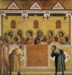 Pentecost by Giotto