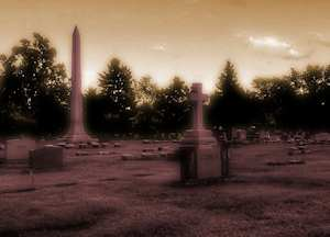 Halloween Cemetery by David Bennett