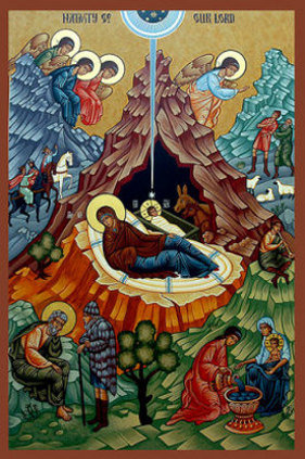 Nativity (Christmas) Icon